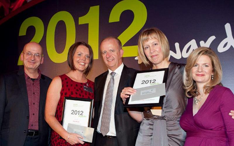Rachel Cassen and Claire Murphy of Leap awarded Social Entrepreneurs Ireland Elevator Award 2012